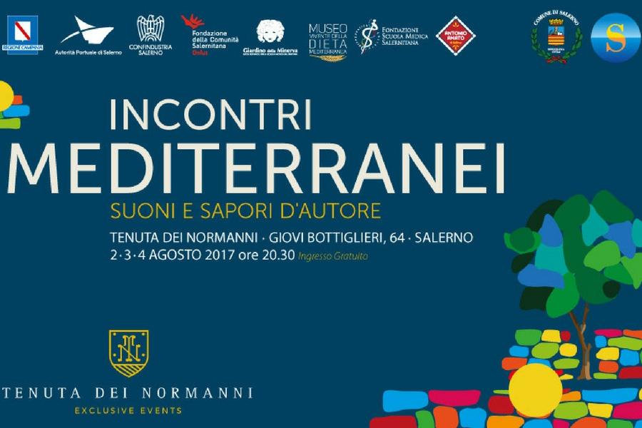 Incontri Mediterranei, dal 2 al 4 agosto nel parco della Tenuta dei Normanni