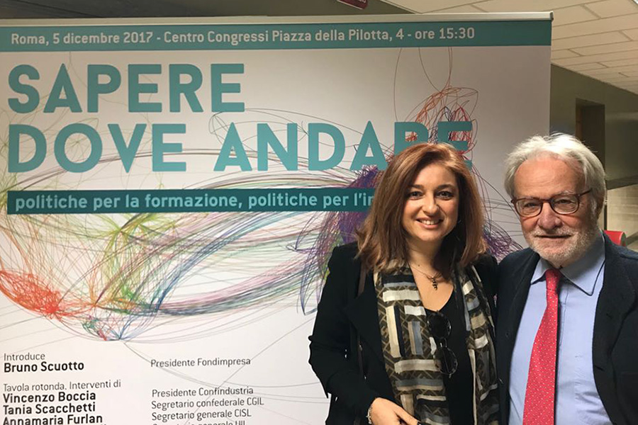 Stefania Rinaldi, Rinaldi Group: «Con Fondimpresa si cresce»