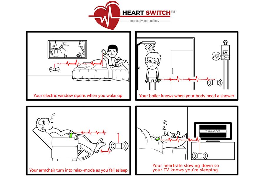 HeartSwitch, il cuore fa muovere il mondo
