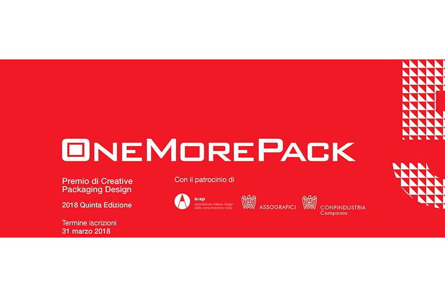 OneMorePack 2018, si riunisce domani la giuria degli esperti presieduta da Lorenzo Marini