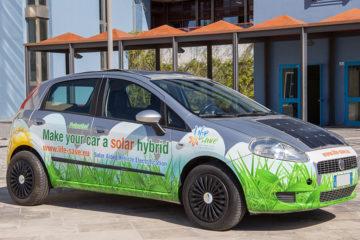 Riqualificazione ibrida solare dei veicoli circolanti