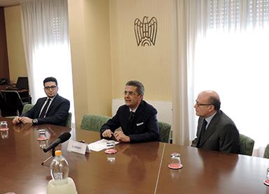 X Edizione Premio Best Practices per l'Innovazione, conferenza stampa di Edoardo Gisolfi