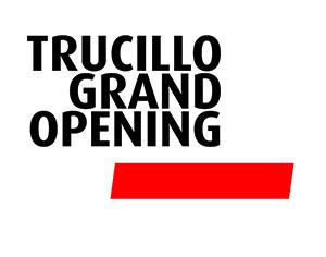 Trucillo logo Grand Opening