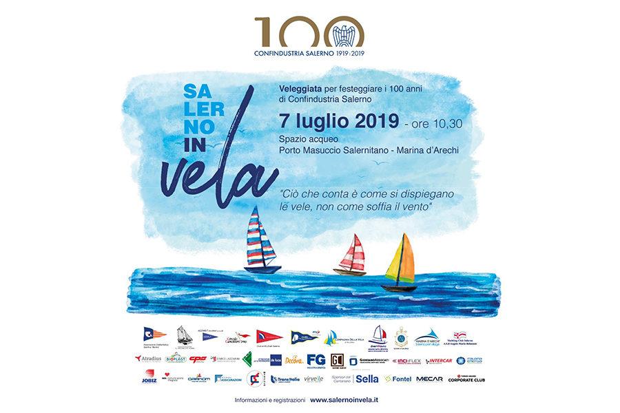 Salerno in Vela, il 7 luglio la veleggiata celebrativa del Centenario di Confindustria Salerno