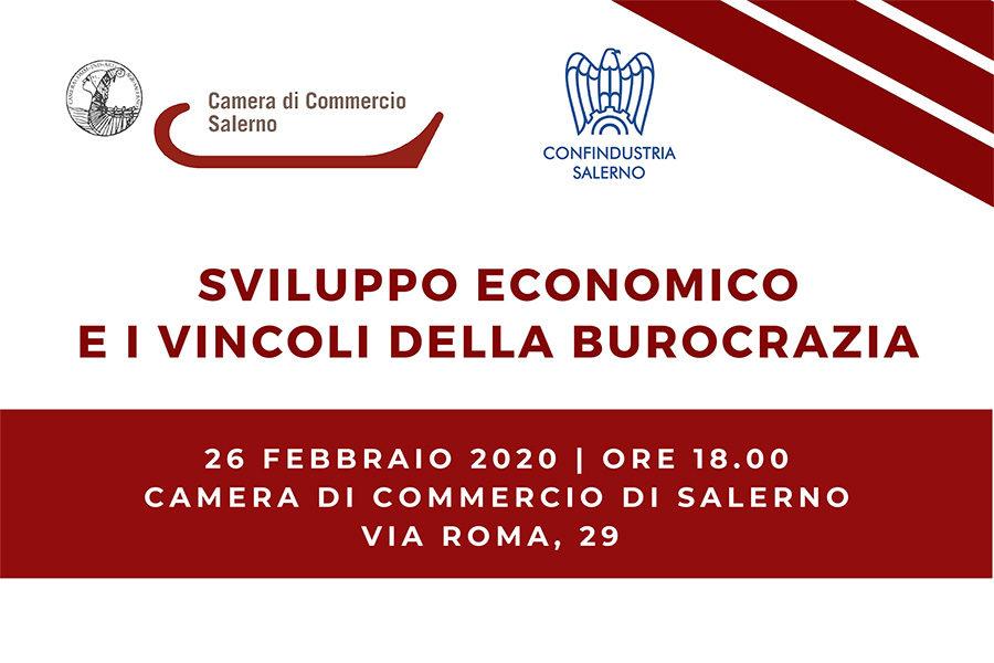 Sviluppo economico e i vincoli della burocrazia, dibattito in CCIAA il 26 febbraio