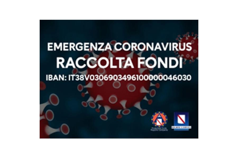 #CORONAVIRUS, RACCOLTA FONDI PER L'EMERGENZA: L'IBAN PER DONARE AGLI OSPEDALI DELLA CAMPANIA