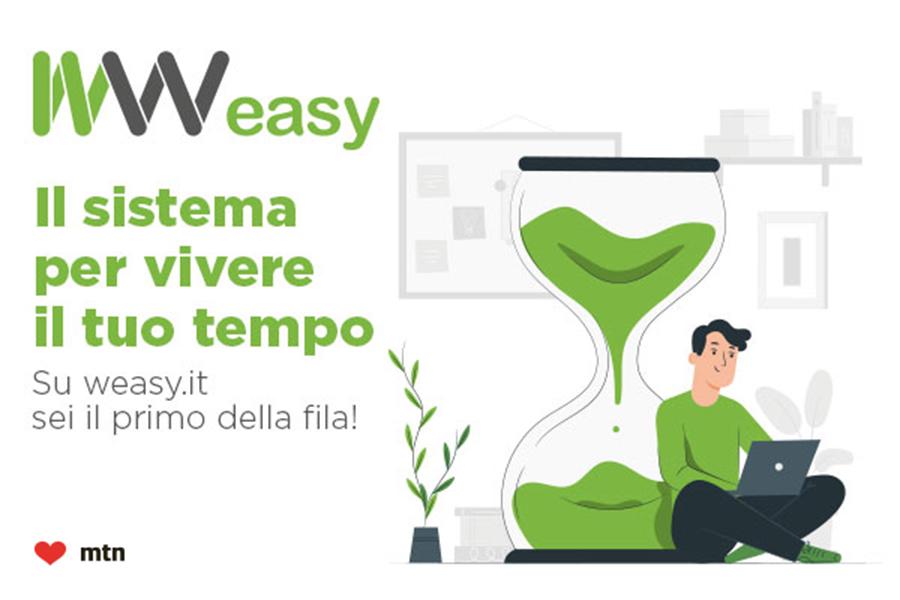 Weasy, la WebApp gratuita per evitare le code