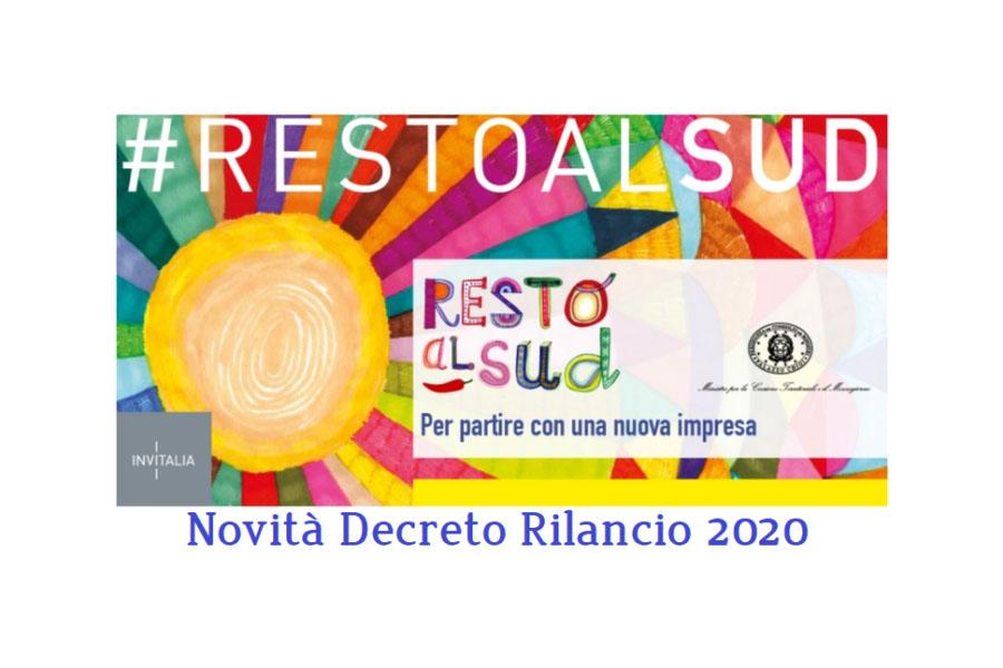 Resto al Sud, aumentati i contributi con il DL Rilancio - Costozero, magazine di economia, finanza, politica imprenditoriale e tempo libero - Confindustria Salerno