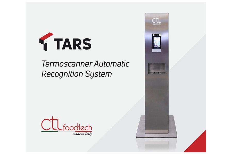 CTI FoodTech, un totem igienizzante termoscanner in dono al Duomo di Salerno