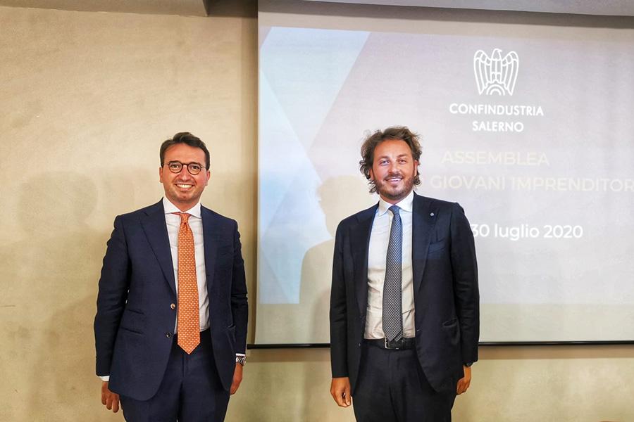 Confindustria Salerno, Marco Gambardella è il nuovo presidente dei Giovani Imprenditori