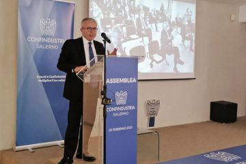 Confindustria Salerno, è Antonio Ferraioli il nuovo presidente