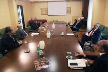 Relazioni istituzionali: Antonio Ferraioli incontra Ahmed Boutache, Ambasciatore d'Algeria in Italia